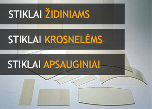 stiklai židiniams stiklai krosnelėms apsauginiai stiklai Kaune
