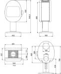 Scan 66-2 Pedestal
